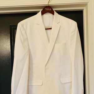 Mens White Suit Jacket